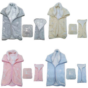 Soft Baby Sack Blanket With Zip Warm Multi Purpose Wrap Premium Quality