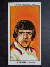 LE SOLEIL soccercards 1978-79 - Norman Hunter - ANGLETERRE #87