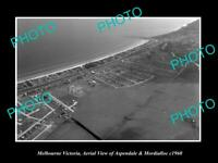 OLD POSTCARD SIZE PHOTO OF MELBOURNE VICTORIA MORDIALLOC & ASPENDALE c1960