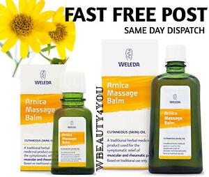 Weleda ARNICA Massage Balm 100ml or 200ml MUSCULAR & RHEUMATIC PAIN