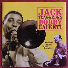 JACK TEARGARDEN BOBBY HACKETT CD COMPLETE FIFTIES STUDIO RECORDINGS