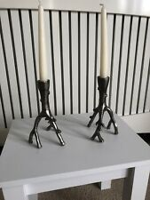 Pair of Vintage Candlesticks / Candle Holder