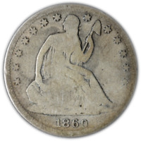 1860-S Seated Half Dollar Great Deals From The Executive Coin Company - BBHE5976