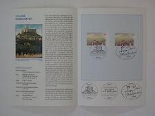 (07j21) Bund Erinnerungsblatt 2007 mit ESST Mi.Nr. 2603, 2605 Hambacher Fest sk
