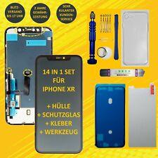Display für iPhone XR mit RETINA HD Bildschirm LCD Haptic Touch Screen Schwarz