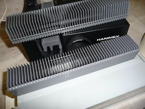 Slide projector slide cassette trays X 2 + box takes 100 slides FOR HANIMEX