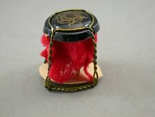 Miniature Doll House Folk Art Vintage Bottle Cap Twisted Wire Furniture Outsider