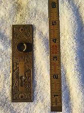 No. 43 Antique Victorian Door Plate Solid Brass