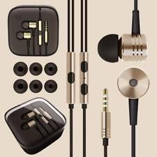 Metal in Ear Headphones Earphones With Mic Remote for Gym Jogging Sports Mp3
