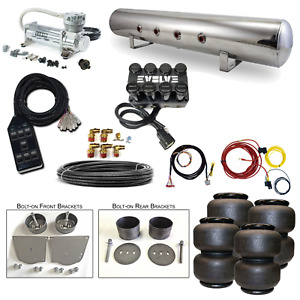 """64-72 Chevelle Airbag Kit - Stage 2 - 3/8"""" Electric 4 Path Air Ride System"""