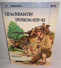 BOOK OLD VANGUARD #3 US 1st Infantry Division, 1939-45 Phil Katcher op 1978