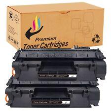 2 pcs Premium CE505A 05A Toner Set for HP P2055 P2055x P2050 Printer +Chip