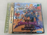 SEGA SATURN [Shining Force III 3 Scenario 2] CAPCOM from japan w/Tracking# USED