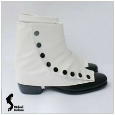 Michael Jackson Smooth Criminal bianco copertura del pattino Taglia 30--44 MJ143