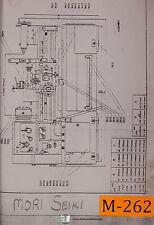 Mori Seiki Standard and Type II, Lathe Assembies Manual