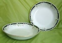 LOT 2pc CROWN MING FINE CHINA JIAN SHIANG MICHELLE SALAD DESSERT SOUP BOWLS 7.5""