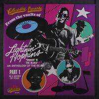 LIGHTNIN' HOPKINS: Drinkin' In The Blues LP (drill hole) Blues & R&B