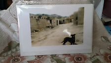 Vintage Photo Card With Envelope in Plastic by Marilyn Conway 2004 Taos NM