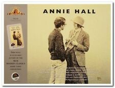 ANNIE HALL- Original 20th Ann. British Quad video poster- WOODY ALLEN - R97