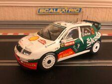 Colin MCRAE SCALEXTRIC SKODA FABIA 4x4 No12 Club Car C2645 Perfecto Estado