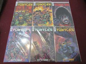 TMNT Comic Lot of 24 NM+ 9.4 1st Print!! ** City at War Kevin Eastman Variants**