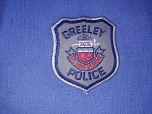 Greeley Police Patch