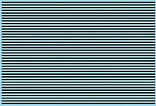 Stripes Black Matte 1,0 MM 1:24 Decal