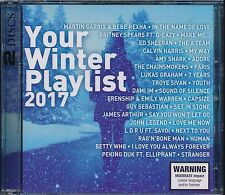 Your Winter Playlist 2017 2-disc CD NEW Guy Sebastian Avicii Mauboy Isaiah