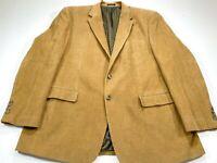 Lauren Ralph Lauren Men's 50L Tan Corduroy Blazer Sport Coat 50 Long