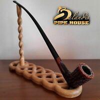 "D.BALANDIS - HAND MADE LONG smoking pipe - Churchwarden LOTR "" GALHAR "" ORAGNA"