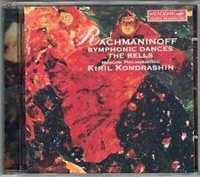 Kirill KONDRASHIN: RACHMANINOV The Bells Symphonic Dances CD Shumskaya Dovenman