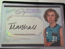 2016 Select AFL Future Force Platinum Signature Todd Marshall FFPS1 29/40 POWER