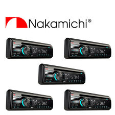 Wholesale Lot (5) NAKAMICHI CD/USB Receiver 50W x 4 USB MP3 NA201  8 key remote