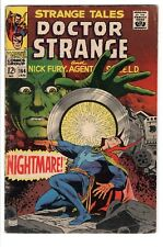 Strange Tales #164 (Jan 1968, Marvel) GD/VG Steranko art