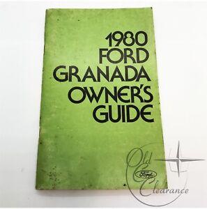1980 Ford Granada Glove Box Owners Manual (FPS36522180B)