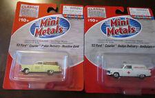 Classic Metal Works-Mini Metals,53 Ford,53 Ford Ambulance.