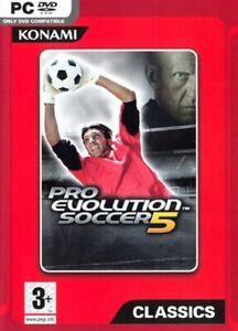 Pro Evolution Soccer Pes 5 (Football) PC Konami