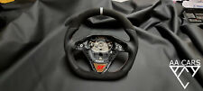 Steering Wheel Ford Fiesta Mk7 ST Flat Bottom Extra Thick  New Leather