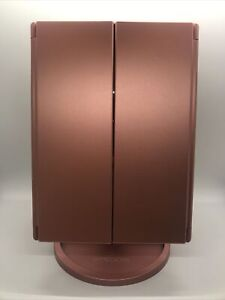 Impressions - Vanity Company - Touch Trifold LED Makeup Mirror - Rose Gold