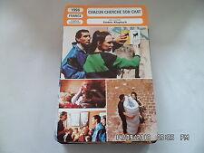 CARTE FICHE CINEMA 1996 CHACUN CHERCHE SON CHAT Garance Clavel Zinedine Soualem