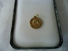 14k GOLD FIRST HOLY COMMUNION RELIGIOUS PENDANT CHARM