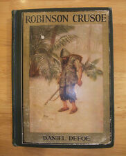 Rare Robinson Crusoe Daniel Dafoe No date The Golden Book Of Children