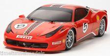 TAMIYA 58560 FERRARI 458 Challenge - 4x4 TT-02 RC Auto Kit * con * TAMIYA ESC UNIT
