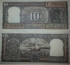 INDIA 10 RUPEES 1985 ,  UNC- , P-60L  SIGN 85 R.N.MALHOTRA LETTER G