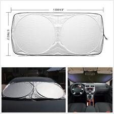 1 Pcs Car Front/Rear Window Foldable Jumbo Visor Sun Shade Windshield Cover Kit