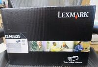 GENUINE NEW LEXMARK HIGH YIELD CARTRIDGE 12A6835 FOR T520 T522 X520 X522