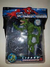 Toy Biz Spider-Man Lizard with Break-Away Oscorp Ventilation Duct Diorama Rare