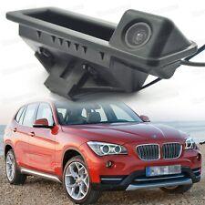 Mango de tronco de automóvil + Cámara De Visión Trasera Marcha Atrás Aparcamiento para BMW X1 2010-2015 12 13 14