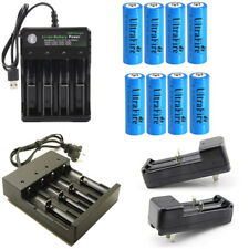 USA 1800mAh 14500 Battery 3.7V Li-ion Rechargeable 14500 Battery For Flashlight