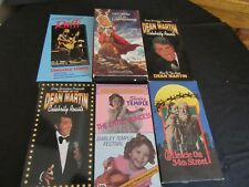 LOT of 6 Vintage VHS Tapes